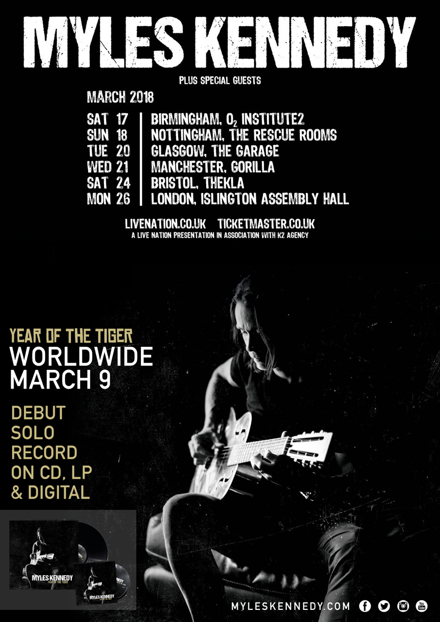 MK Year of the Tiger UKTourPoster
