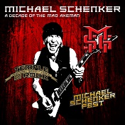 Michael Schenker A Decade of the Mad Axeman Cover