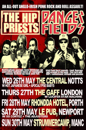 Hip_Priests_Dangerfields_Poster