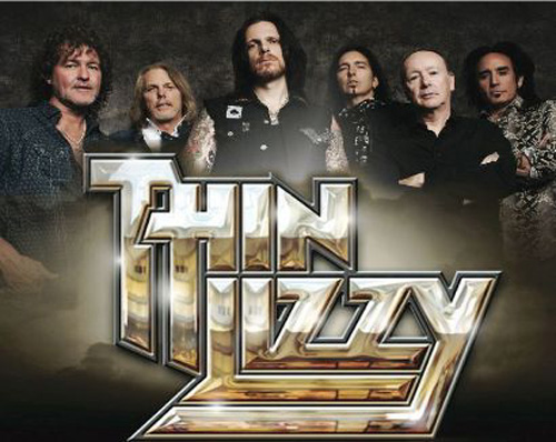 thin lizzy logo  band