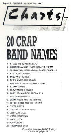 crap band names-sounds