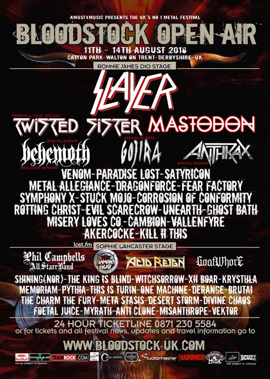 Bloodstock May 25th