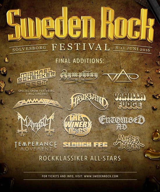 Swedene Rock final