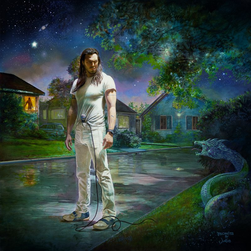 Andrew WK Youre Not Alone artwork
