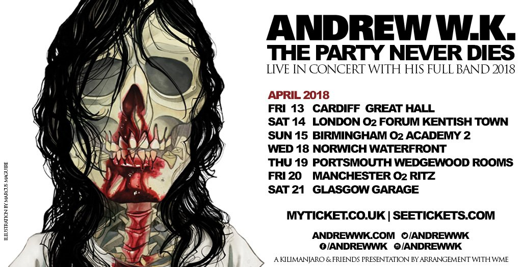 Andrew WK poster