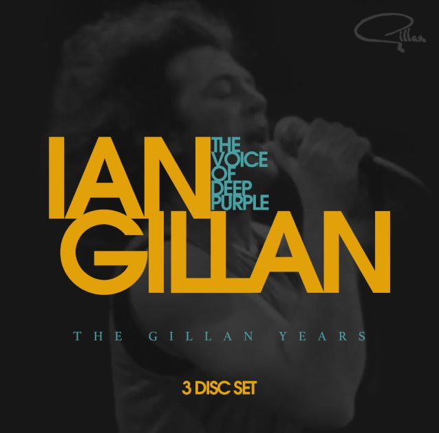 Ian Gillan Gillan Years cover