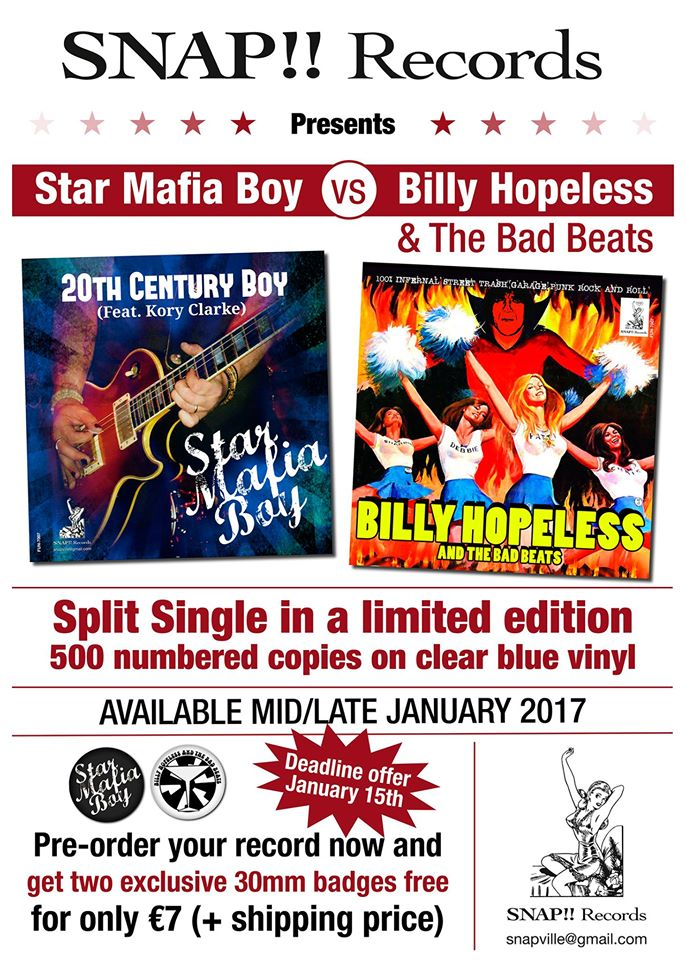 Billy Hopeless Star Mafia Boy
