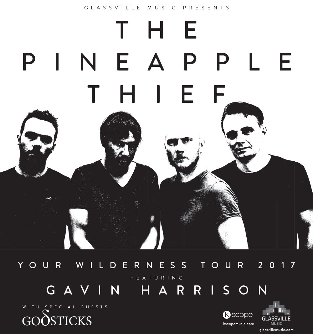 The Pineapple Thief poster