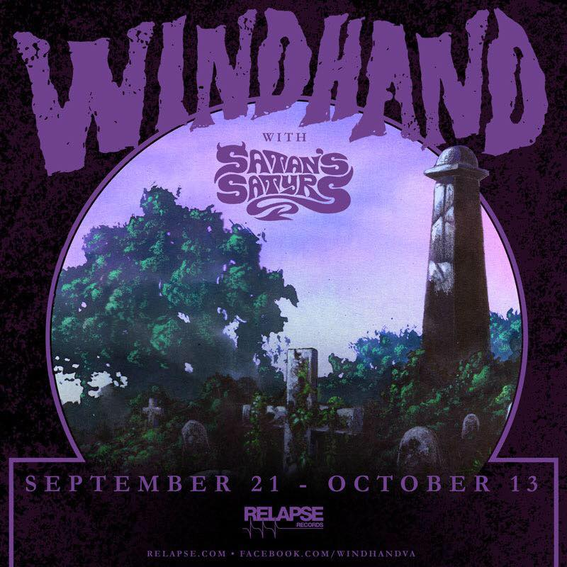 Windhand tour flyer